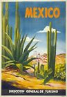 TX11 Vintage MEXICO Cactus Mexican Travel Poster Re-Print A1/A2/A3/A4