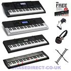 Casio Digital Keyboard Electric Piano 61 Keys CTK LK Complete Bundle With Stand