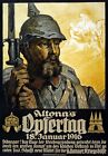 WA36 Vintage German Altona's Opfertag War Fund Raising Poster WW1 A1/A2/A3/A4