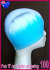 1x LYCRA SWIM CAP - FACTORY SECONDS CAPS Adult or Kids Childs Swimming Hat - NEW