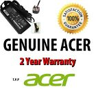 Genuine ORIGINAL Acer Aspire Laptop Notebook AC Adapter/Charger + UK Power Lead