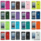For iPod Touch 5 5th GEN Add-On Rocker Silicone Rubber Skin Case Cover