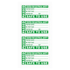 PAT TEST LABELS PORTABLE APPLIANCE TESTING PASSED STICKERS 50mm x 25mm 20 40 60