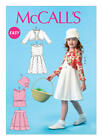 McCall's 6914 OOP Sewing Pattern to MAKE Girls' Pleated Dress Top Skirt & Jaket