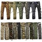 Jeansian Mens Military Army Cargo Camo Combat Pants Toursers 15 Colors 10 Sizes