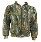 GENTS OAK TREE CAMO HOODY Warm 2 layer zip up cotton hunting jacket Mens sizes