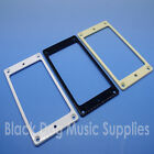 Plastic guitar humbucker pickup surround ring 3mm flat bottom including screws