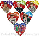 ONE DIRECTION 1D BAND BIRTHDAY PARTY BALLOONS~CHOICE~LIAM~HARRY~LOUIS~NIALL~ZAYN