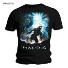 Official T Shirt HALO 4 Black Xbox SAVIOUR Soldier All Sizes