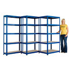 Industrial Steel Shelving Racking Heavy Duty Storage Warehouse- 9 Sizes BiGDUG