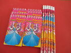 PRINCESS  Notebooks & Pencils  Girls Party bag fillers pick your amount Style1