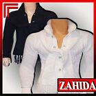 Men's Knitted Sweater Jumper Cardigan Black White with Scarf M L XL New