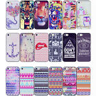 Fashion Colorful Patterns Design Hard Back Case Covers For Apple iPhone 5C