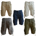 Smith & Jones Urban Apparel Mens Cargo Shorts, Plain Summer Shorts