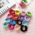 New Type 10 in 1 Lady Girls Vogue Chic Thin Hair Elastics Hair Bands Accessories