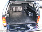 Toyota Hilux Vigo + Invincible custom moulded no slip rubber bedliner floor mats