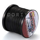 New! 100M-1000M Black 6LB-300LB Super Strong Dyneema Braided Sea Fishing Line