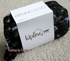 New with Tag Kipling TRAVEL 2GO TOILETRY BAG Balck,  Party Print