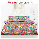 Naomi Floral Spring Quilt Cover + Pillowcase(s) Set - SINGLE DOUBLE QUEEN KING