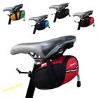 Cycling Bicycle Bike Saddle Outdoor Pouch Seat Waterproof Bag ROSWHEEL Treedy