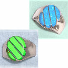 Sterling silver ring w inlaid stone Select size, stone & price fnr