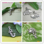 Charms Tibetan Silver Crafts Jewelery Finding Spacer Beads