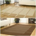 Visiona 4311 Modern Handcarved Checked Design Quality Rug in 2 Colours 5 Sizes