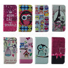 New For Samsung For Apple Leather Flip Money Wallet Credit Card Hold Case Cover
