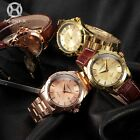 AGENTX Mens Bling Crystal 4 Colors Date Display Sport Wrist Quartz Watch
