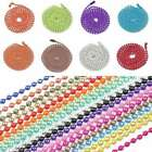 1/2/5/10pcs 70cm Iron Ball Chain Necklace Bead Connector 18 Colors Wholesale