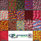 550LB Parachute Rope Paracord Red Colors 10' 25' 50' 100' Feet Length Options