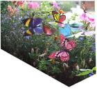 Colourful Garden Butterflies on Sticks x5 Window Box and Pot Plant Decoration