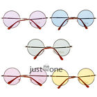 New Fashion Lovely Colorful Round Lens Spectacle Sunglass Metal Frame Shades Hot