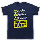 80 MINUTES 15 POSITIONS WANNA RUCK RUGBY FUNNY HUMOROUS MENS WOMENS T-SHIRT TEE
