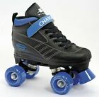 Children Roller Skates Boys Black Pacer Charger Quad Skate Size 10J - 4