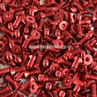 RED M6 Pro Alloy Countersunk Screw Bolt Allen Key Universal (choice of length)