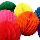 New Paper honeycomb Tissue Ball Wedding Party Birthday Home Décor Paper Pom $0.99 USD