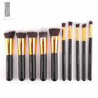 10 Pic Cosmetic Powder Blush Foundation Brush Makeup Brushes Set Kabuki Brushes