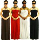 all white cocktail party dresses - NWT S/M/L NEW Women Strapless Kaftan Smock Summer Cocktail Party Maxi Long Dress