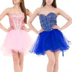 Womens Short Bridal Homecoming Party Cocktail Prom Gown Mini Dress US 2014 Sell