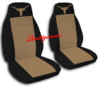 2 Longhorn Seat Covers 2009 to 2011 Ford F-150 Bucket Seats Only Airbag Friendly