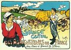 AP170 Vintage French Syndicat Central Agriculteurs Advertisement Poster A2/A3/A4