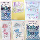 Baby Shower Greeting Card For Mum To Be Boy Girl Unisex Quality Cards