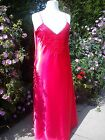 LADIES LONG SATIN NIGHTDRESS NIGHTIE  PLUS SIZES 18-28 (OS-XXOS) CHOOSE COLOUR