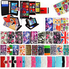 For Various Nokia Phones Book Type Card Slot Wallet Flip Case Cover+Guard+Stylus