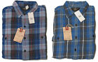 Double Ralph Lauren RRL Mens Long Sleeve Linen Cotton Flannel Button Shirt L XL
