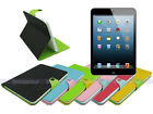 Leather Wallet Case Cover with Inner TPU Soft for iPad Mini