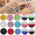 Chunk Snap Charm 15 Colors Full Rhinestone Button Bead Fit Buckle Bracelet Ring