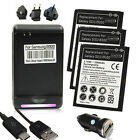 3x/2x/1x 2300mAh Battery+Dock+USB Cable+Car Charger For Samsung Galaxy S3 i9300