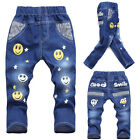 Kid Jeans Unisex Toddler Baby Kid Toddler Trousers Pants Size 2-6Year Brand New